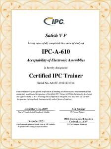 IPC A 610G 2021