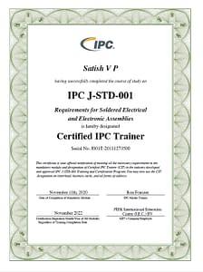 IPC J STD 001 CIT Certification
